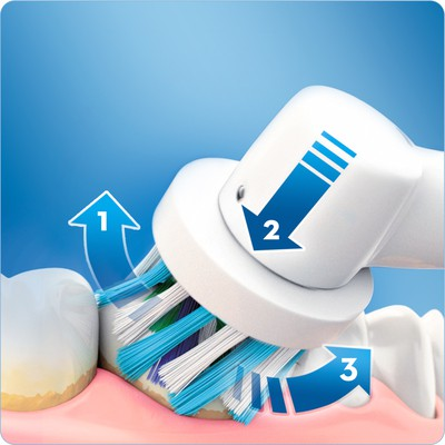 Oral-B Pro 750 Cross Action Şarjlı Diş Fırçası Siyah