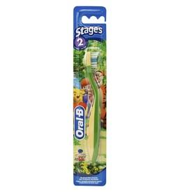Braun Oral-B  Çocuk Stages 2: 2-4 Yaş Diş Fırçası