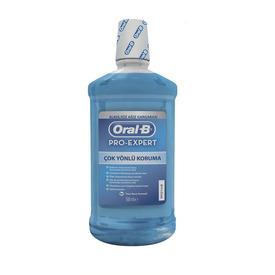 Oral-B Oral-B Ağız Çalkalama Suyu Pro-Expert Çok Yönlü Koruma 500 ml (Alkolsüz) Ağız Gargarası