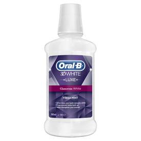 Oral-B Oral B Ağız Çalkalama Suyu 3 Boyutlu Beyazlık Luxe 500 ml Ağız ve Diş Bakımı