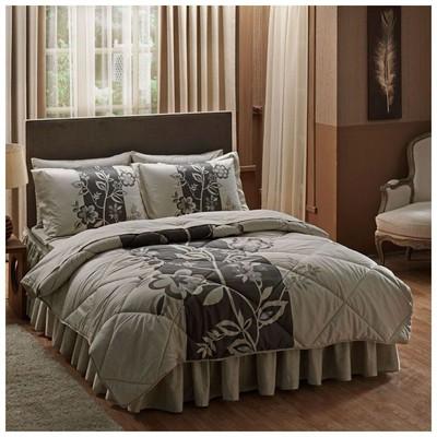 Taç Tekstil Taç Paulin Çift Kişilik Saten Uyku Seti - Krem Bebek Uyku Seti
