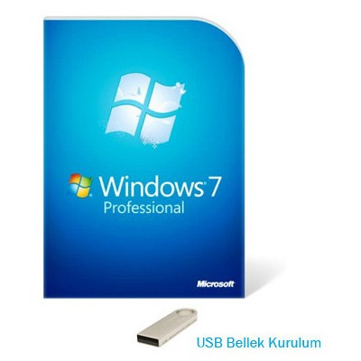 Microsoft Windows 7 Professional, English, 64 Bit, Oem Usb Fqc-08289u İşletim Sistemi
