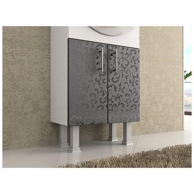 Bestline Membran Series Seramik Lavabolu Banyo Dolabı Karya 55 Banyo Gereçleri