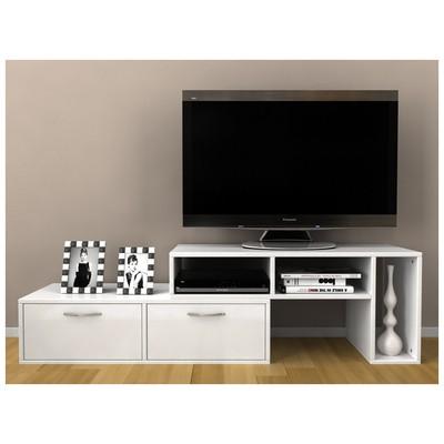 Bestline Barcelona TV Sehpası - Beyaz Mobilya