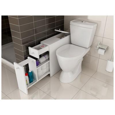 Bestline Smart Fonksiyonel  - Beyaz Banyo Dolabı