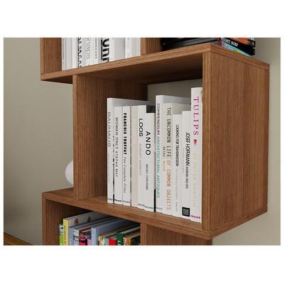 Bestline Meriç Kitaplık - Ceviz Mobilya