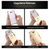 Microsonic Htc M8 Kılıf Luxury Mirror Gold Cep Telefonu Kılıfı