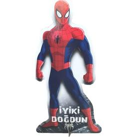 Parti Paketi Spiderman Ayaklı Pano, 54cm Parti Dekoru