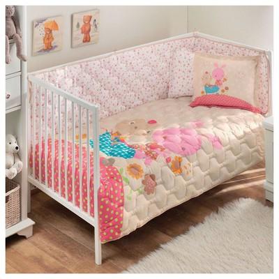 Taç Garden Bebek Uyku Seti - Pembe Ev Tekstili