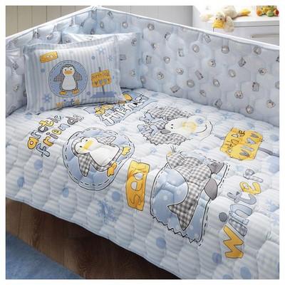 Taç Snow Friends Bebek Uyku Seti - Mavi Uyku Setleri