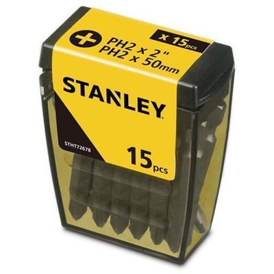 Stanley Stht726788l 15 Adet Ph2 Vidalama Uç Seti Makine Aksesuarı