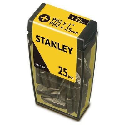 Stanley Stht726808l 25 Adet Ph2 Vidalama Uç Seti Makine Aksesuarı