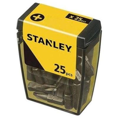 Stanley Stht726818l 25 Adet Pz2 Vidalama Uç Seti Makine Aksesuarı