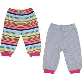 Bebepan 1683 Patiksiz Bebek Pantolon 2 Li Tropical 9-12 Ay (74-80 Cm) Pantolon & Şort