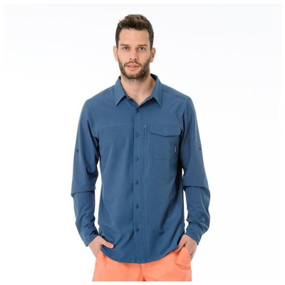 Columbia 28451 Am7091 Packables Roll-up Ls Shirt Am7091-554