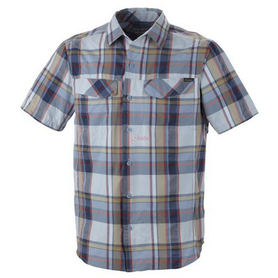 Columbia 28454 Am7429 Silver Ridge Multi Plaid Short Sleeve S Am7429-441