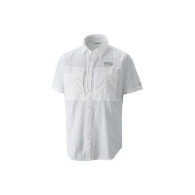 Columbia 53069 Am9156 Cascades Explorer Short Sleeve Gömlek Am9156-100