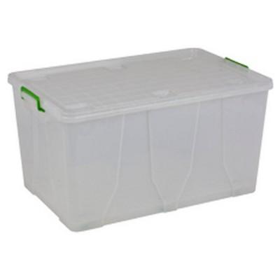 Hi-Pas Plastik Kapaklı Saklama Kutusu 75 Lt ( Tekerlekli )