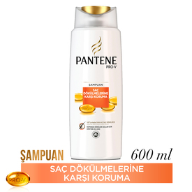 Pantene Şampuan Saç Dökülmelerine Karşı Etkili 600 ml Saç Bakım Ürünü