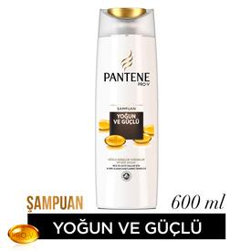 Pantene Şampuan Yoğun ve Güçlü 600 ml Saç Bakım Ürünü