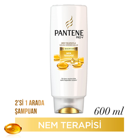 Pantene Saç Bakım Kremi Nem Terapisi 600 ml Saç Bakım Ürünü
