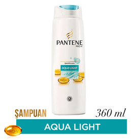 Pantene Şampuan Aqualight 360 ml Saç Bakım Ürünü