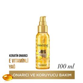 Pantene Keratin Özlü Onarıcı E Vitaminli Yağ 100 ml Saç Bakım Ürünü