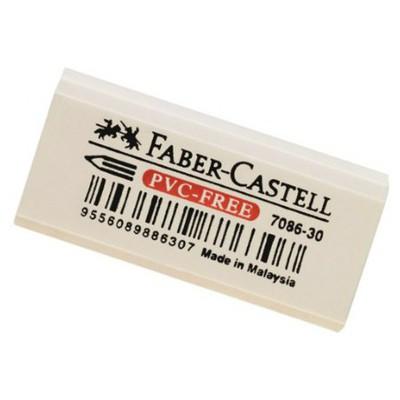 Faber Castell 7086-30 Pvc-free Beyaz Silgi Silgiler