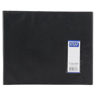 Kraf Bilgisayar Klasörü 11 x 24 cm Siyah Dosya