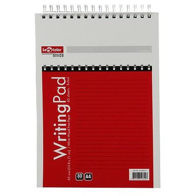 Le Color Writing Pad A4 80 Yaprak Çizgili Defter