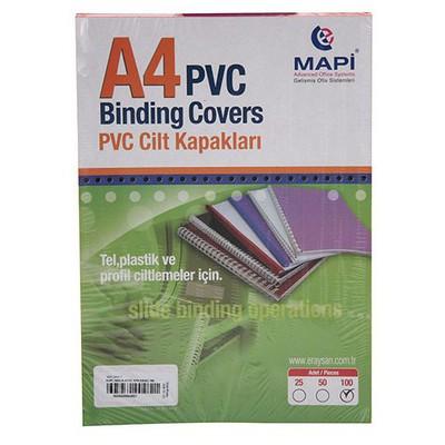 Mapi Pvc A4 160 Micron Cilt Kapağı 100'lü Ciltleme Ürünü