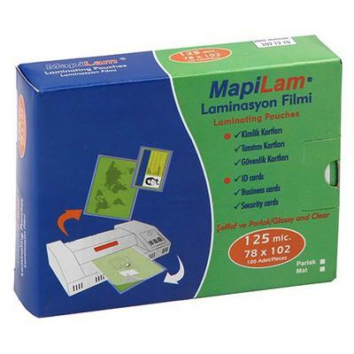 Mapilam Laminasyon Filmi 125 Micron 78 X 102 Mm 100'lü Paket Ciltleme Ürünü
