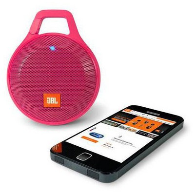 JBL ClipPlus, Bluetooth , Pembe Hoparlör