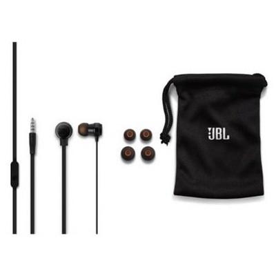 JBL T280ABLK, Kulaklık, CT, IE, Siyah Kulak İçi Kulaklık