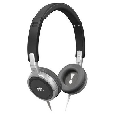 JBL T300A Kafa Bantlı Kulaklık - Siyah/Gümüş