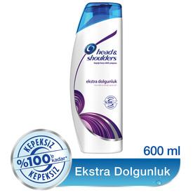 Head & Shoulders Şampuan Ekstra Dolgunluk 600 ml Saç Bakım Ürünü