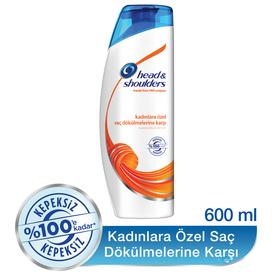 Head & Shoulders Şampuan Kadınlara Özel Saç Dökülmelerine Karşı 600 ml Saç Bakım Ürünü