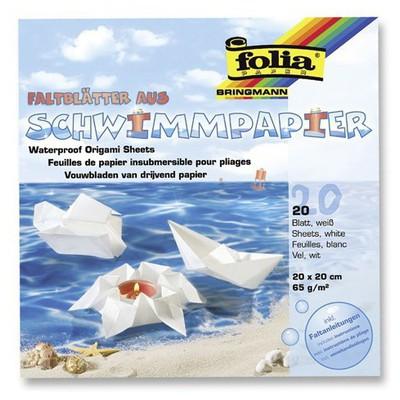 Folia Su Geçirmez Origami Kağıdı 20 Tabaka Resim Malzemeleri