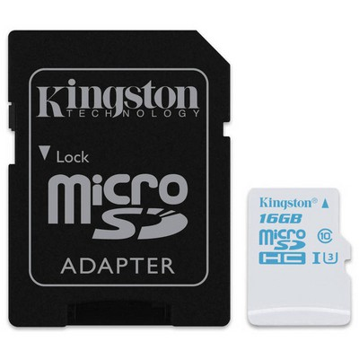 Kingston 16GB MicroSD UHS-I U3 (SDCAC/16GB) Micro SD Kart