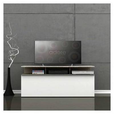 Adore Tvc-529-lb-1 Vision Çekmeceli Tv Sehpası  Latte-parlak Beyaz 117x48x40 Cm TV Sehpası