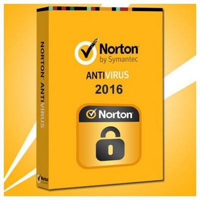 Symantech Norton Antivirus 2016 Kutu 1 Kullanıcı - 1 Yıl Güvenlik Yazılımı