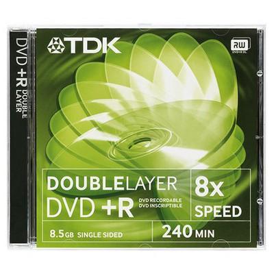 TDK DVD+R 8x 8.5GB Kalın Kutu CD/DVD