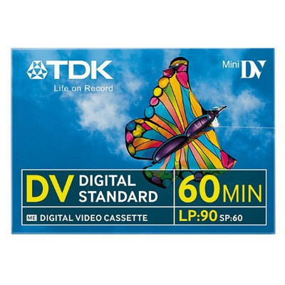 TDK DVM 60dk Mini Digital Standart Video Kaseti CD/DVD