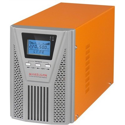 Makelsan 1kVa Powerpack SE On-Line UPS (MU01000N11EA004)