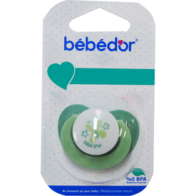 Bebedor 192 Desenli Emzik 3 M+ Koyu Yeşil Bebek Besleme