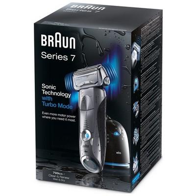 Braun Series 7 799cc-7 Clean&Charge Islak&Kuru Tıraş Makinesi