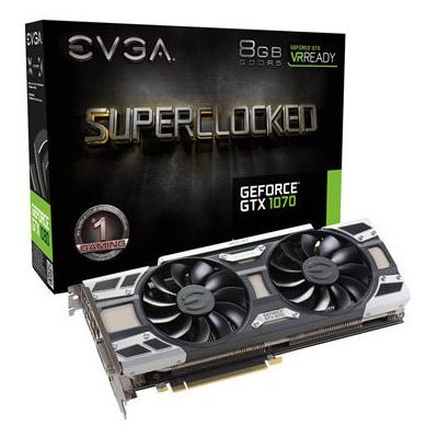 Evga GTX 1070 8GB GDDR5 256bit SuperClocked ACX 3.0+ Nvidia Ekran Kartı