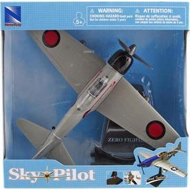 Sunman Sky Pilot Zero Fighter 1:48 Model Uçak Erkek Çocuk Oyuncakları
