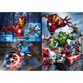 Clementoni Çocuk  3x48 Parça Avengers Puzzle
