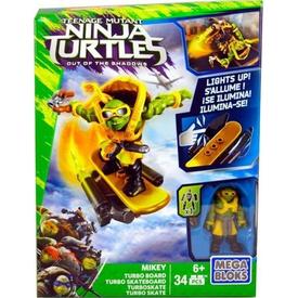 Mega Bloks Ninja Kaplumbağalar Movie Mikey Oyun Seti Lego Oyuncakları